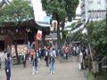 子供神輿の宮入り 湯島天神祭